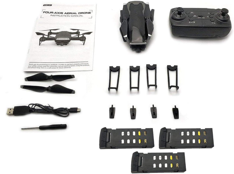 WOSOSYEYO LH-X41WF RC Drohne 6-Achsen Mini FPV Drohne 0.3MP 480P HD Kamera Alititude Hold Start   Landung Drohne mit 3 Batterien