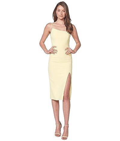 Bardot Suzana Midi Dress (Limoncello) Women