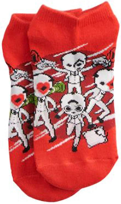 Fortnite Battle Royale Gamer Boy Girl Teen Adult 5 Pack No Show Socks