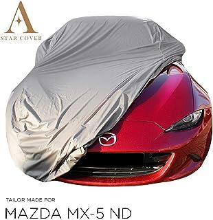 RRR255/_E12 En Garaje Uso Sahara Funda Coche Para Mazda MX5 Coupe 2005