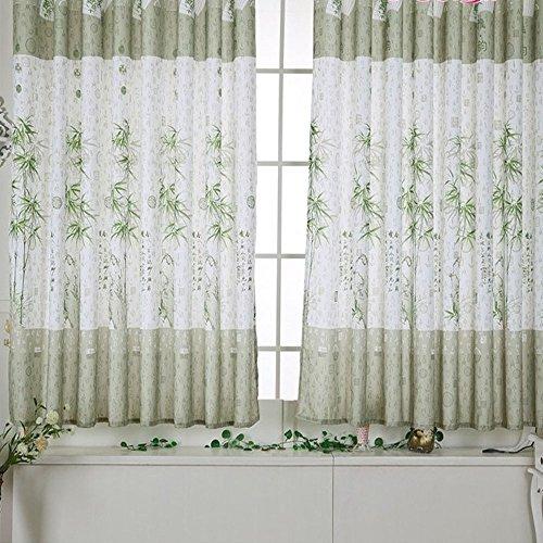 Grüne Vorhang Bamboo Green VorhäNge Kurz Duschvorhang Gardinen Fenster Rollo Thermovorhang KräUselband Verdunkelungsvorhang KüChenvorhäNge Verdunklungsgardinen Screens Curtain