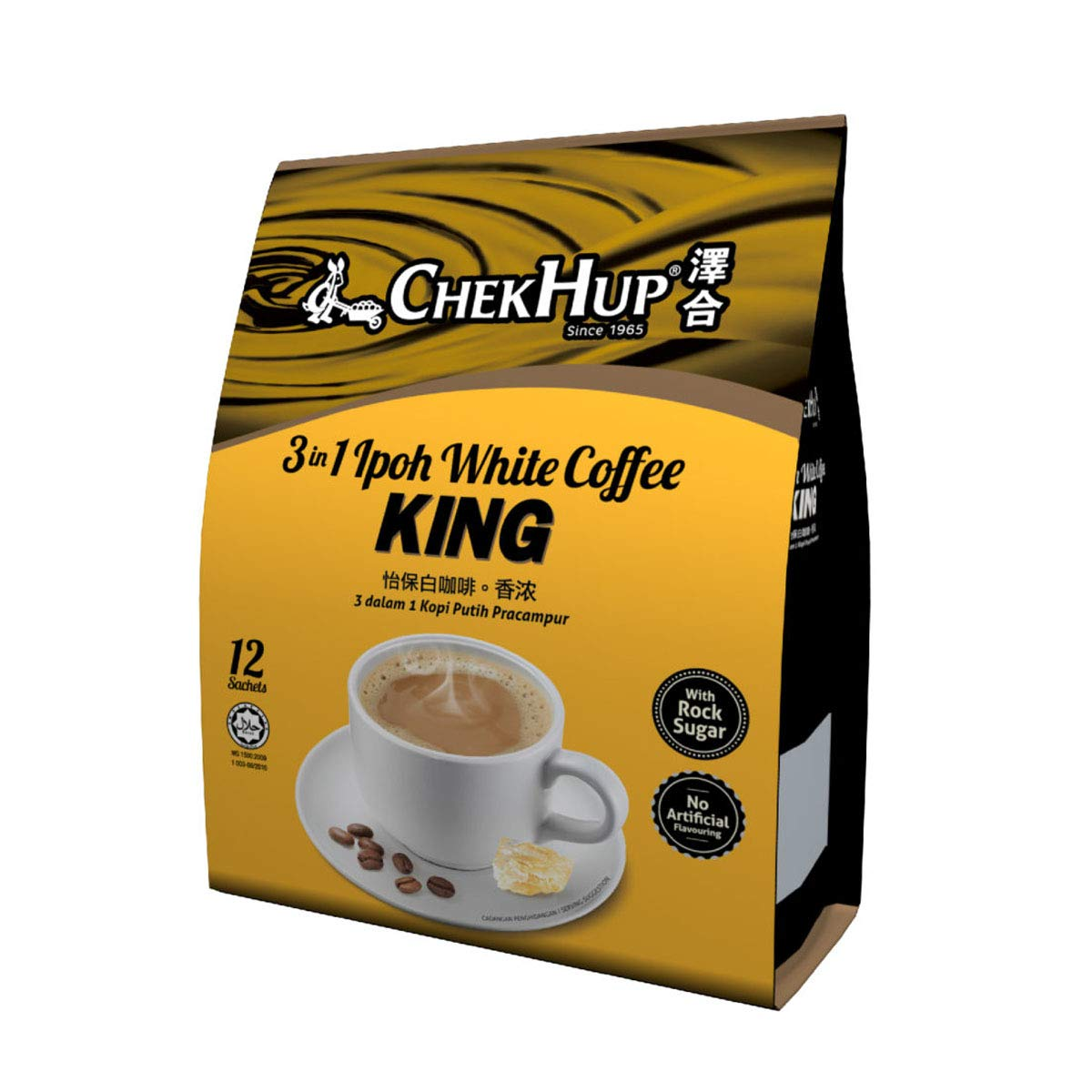 1 Pack ChekHup 3 In Ipoh Hup White Chek By Our shop OFFers the Fashionable best service Coffee KING