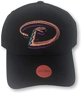 Arizona Diamondbacks Throwback Logo Teens Adult Snapback Adjustable Cap Hat