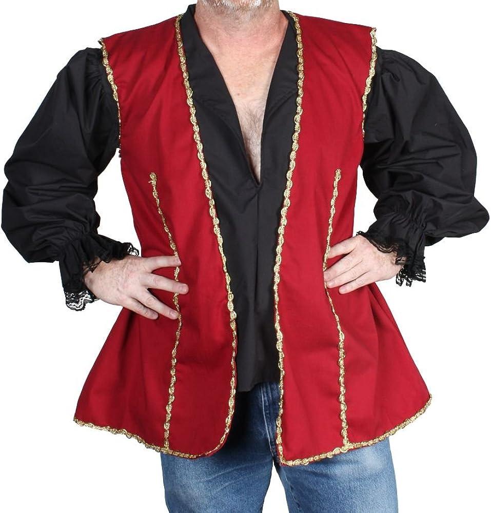 Alexanders Costumes Men's Gifts Bargain Buccaneer Vest