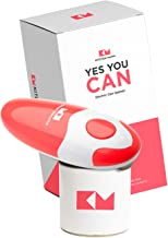 Kitchen Mama Electric Can Opener: Open Your Cans with A Simple Push of Button – No..