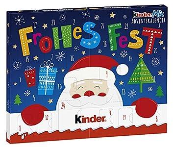 Kinder Navidad Mix Mesa-Calendario de Adviento, 127g