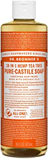 Dr Bronner Tea Tree Castile Liquid Soap 472ml