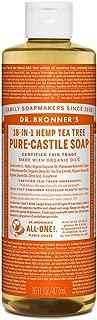 Dr. Bronner's - Pure-Castile Liquid Soap (Tea Tree, 16 Ounce)