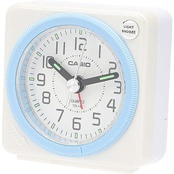 CASIO(カシオ) 目覚まし時計 アナログ トラベルクロック ホワイト TQ-146-7JF