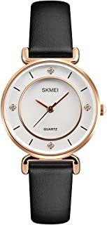 Skmei Casual Watch For Women Analog Leather - 1330