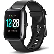 Smart Watch Fitness Tracker Heart Rate Monitor Step Calorie Counter Sleep Monitor Music Control...