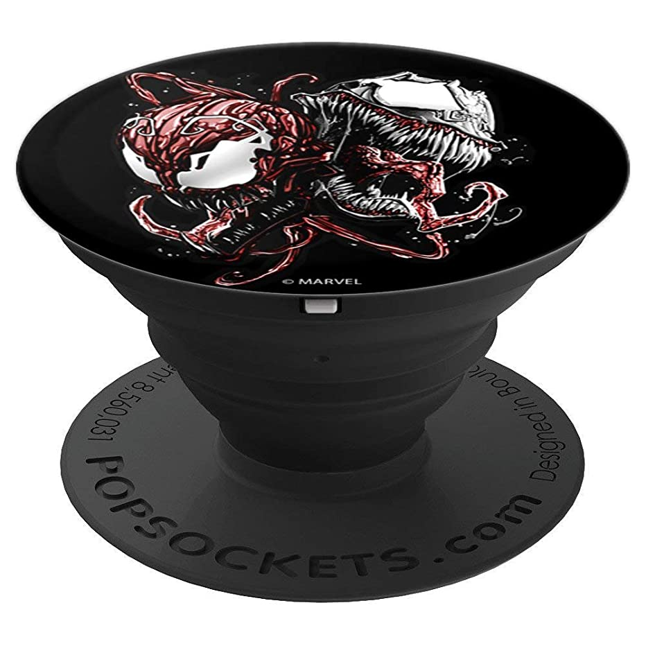 Marvel Carnage And Venom Head To Head - PopSockets Grip and Stand for Phones and Tablets