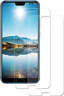 LPCJ [2-pack, kompatibel med Honor 10 GT skärmskydd, härdat glasfilm, skärmfilm för Honor 10 GT smartphone