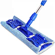 RYDQH Microfiber Hardwood Floor Mop Washable & Reusable Flat Mops Cloths/Pads, for Wet or Dry Floor Cleaning