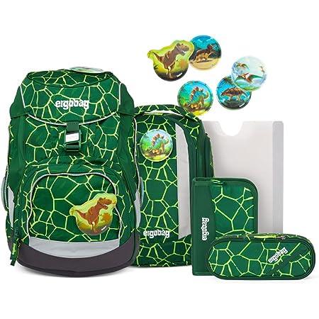 ergobag Pack Schulrucksack Set 6-TLG. BärRex