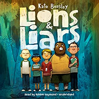 Lions & Liars                   By:                                                                                                                                 Kate Beasley                               Narrated by:                                                                                                                                 Robbie Daymond                      Length: 5 hrs and 40 mins     19 ratings     Overall 4.4