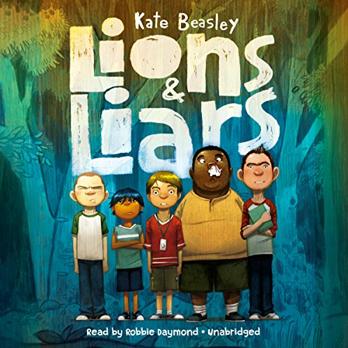 Lions & Liars audiobook cover art