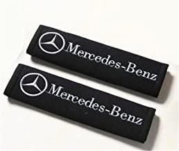 Seat Belt Shoulder Pads Strap Harness Covers Cushions (Pair / Set) For Mercedes Benz Cars