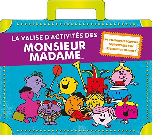 La valise d'activités des Monsieur Madame