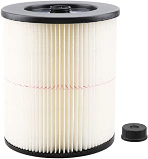 IOYIJOI 1 Pack Wet/Dry Cartridge Filter Replacement for Shop-Vac Craftsman 9-17816 fit 5 Gallon & Larger Vacuum Cleaner
