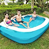 Isopeen Thickened Environmental Protection Inflatable Family Inflatable Swimming Pool Kids Swimming Pool for...