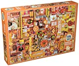 """Outset Media 1000 Pieces 26.625""""X19.25"""" Rainbow Project Jigsaw Puzzle, Yellow"""