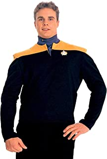 Deep Space Nine Shirt Adult Costume Gold - Small