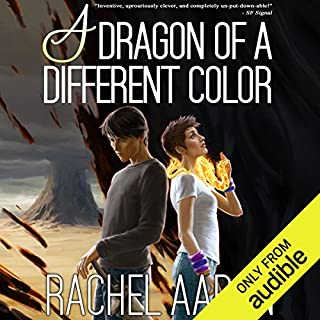 A Dragon of a Different Color     Heartstrikers, Book 4              Written by:                                                                                                                                 Rachel Aaron                               Narrated by:                                                                                                                                 Vikas Adam                      Length: 21 hrs and 25 mins     20 ratings     Overall 4.7