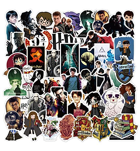 Harry Movie Stickers Potter Maleta Guitarra Portátil Pegatinas 100pcs