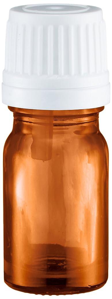 一般的に準備ができて閉じるease 遮光ビン 茶色 5ml ×50本