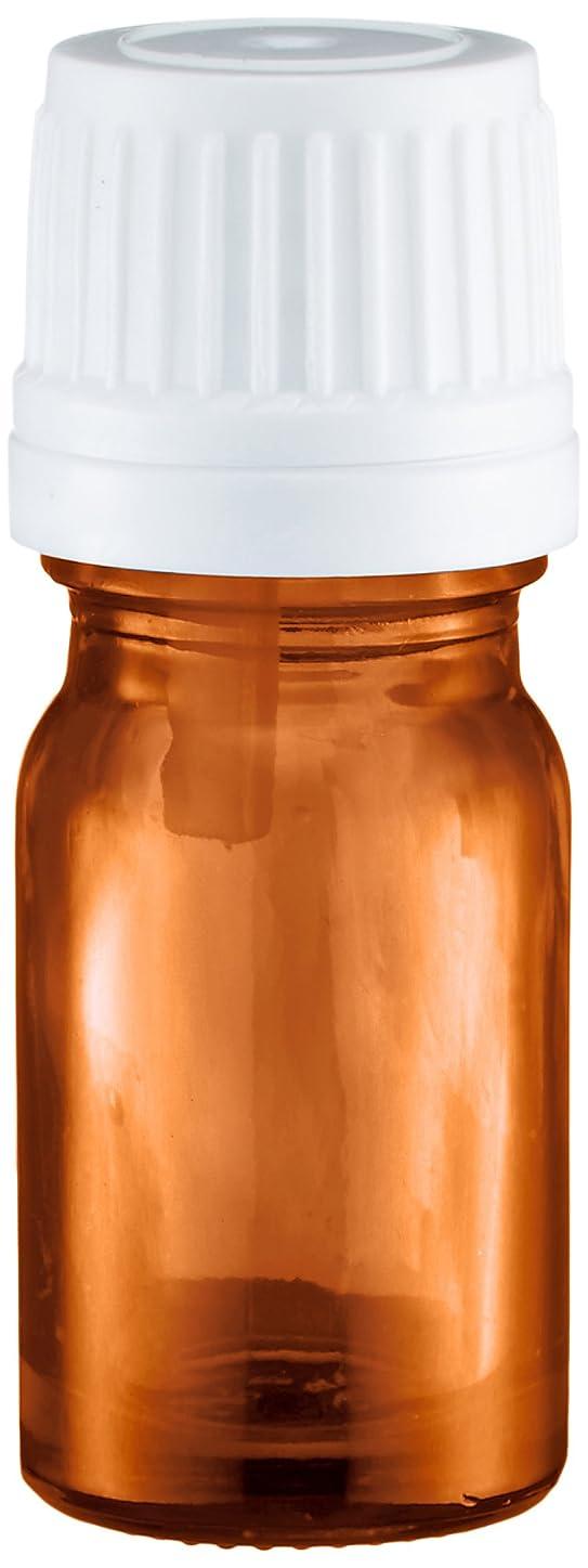 階層単調な正確にease 遮光ビン 茶色 5ml ×50本