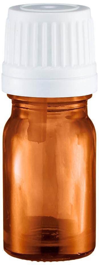 倒産突き出す静的ease 遮光ビン 茶色 5ml ×50本