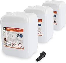 3 x 10 L bioéthanol à 96,6% dénaturé - FRAIS DE PORT OFFERT - qualité certifiée - bidons de 10 L