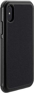 Just Mobile iPhone XS/X ケース Quattro Air ブラック(ジャストモバイル クアトロエアー)アイフォン カバー 5.8インチ【日本正規代理店品】 JM10324