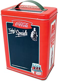 Coca-Cola Tall Rectangle Galvanized Tin Chalkboard with Handle