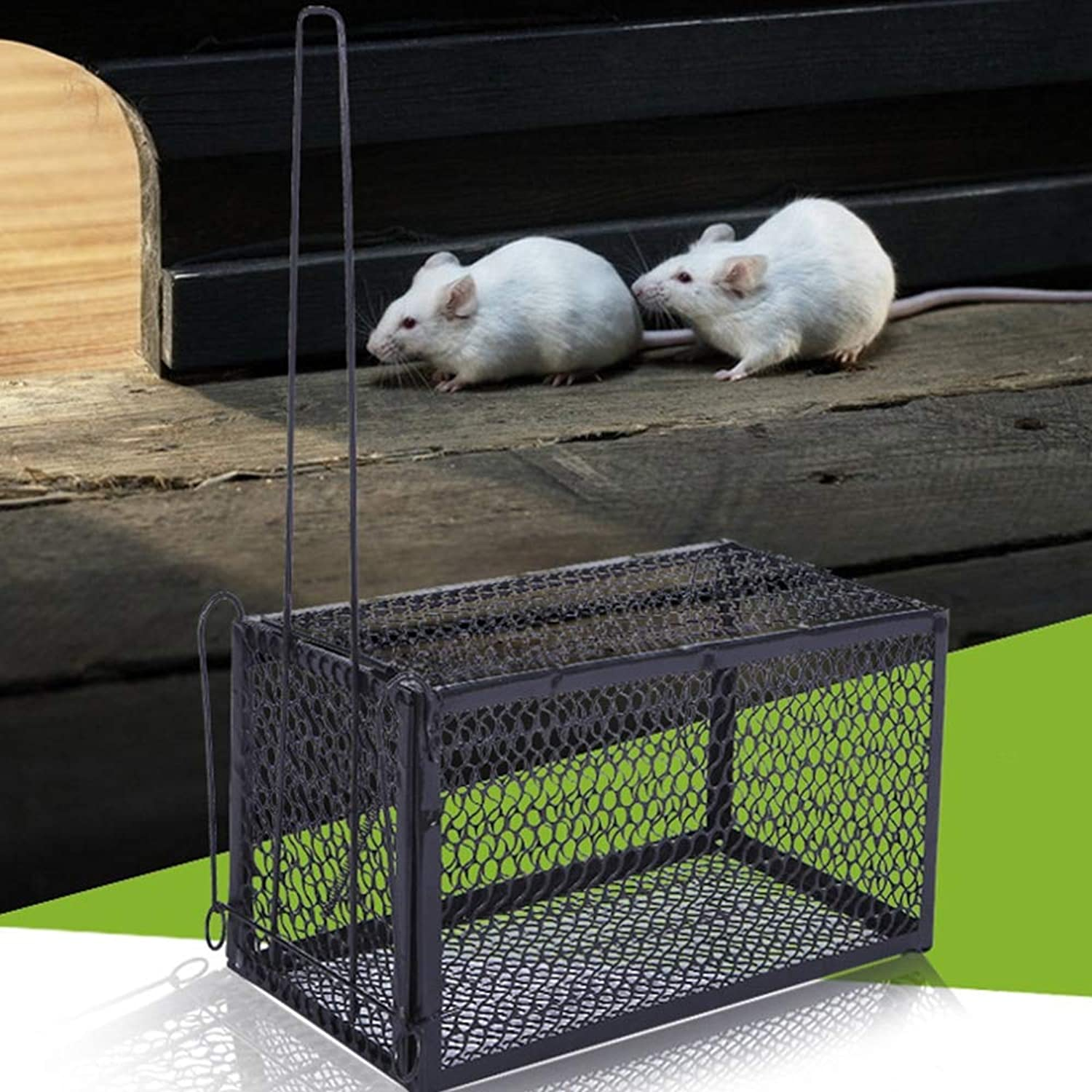 New Rat Cage Mice Animal Control Catch Bait Hamster Mouse