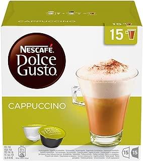 Nescafé Dolce Gusto卡布奇诺 XXL特惠装 (90 枚胶囊,纯阿拉比卡咖啡豆,淡咖啡享受伴有奶泡) 3盒 (3 x 30 胶囊)