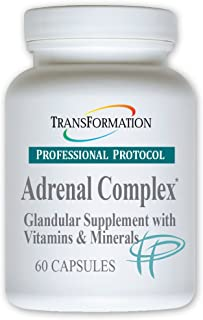Transformation Enzymes Adrenal Complex - 60 Capsules - Synergistic Formulation of Herbs and Vitamins to Support a Healthy ...