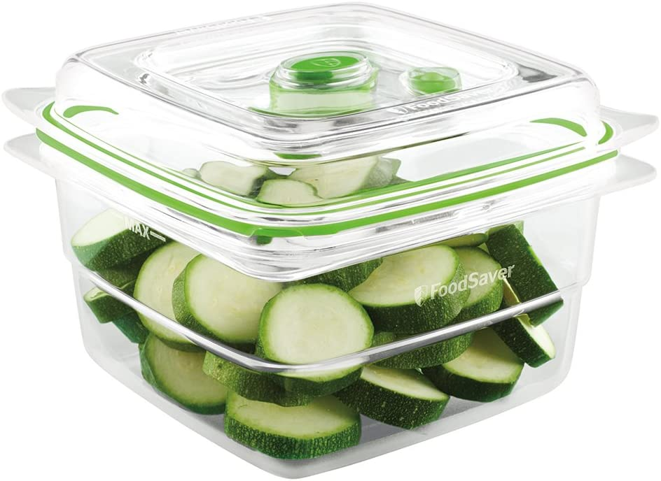 FoodSaver Clear Vacuum Sealed Max 81% OFF Cup supreme Container 5 Fresh