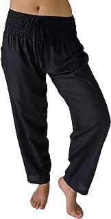 Women's Tall 0-10 Smocked Waist Skinny Straight Leg Casual Work Pants w Pocket 34 Inseam