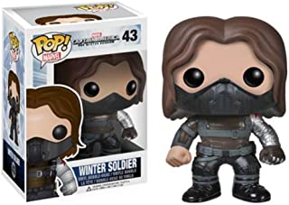 Best winter soldier unmasked pop Reviews