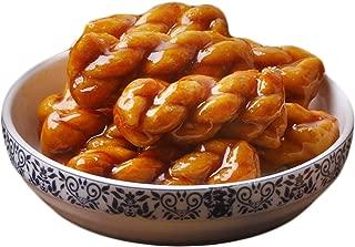 OuYang Hengzhi Chinese Fried Dough Twists Brown Sugar Flavor Mahua 红糖麻花 150g/5.29oz