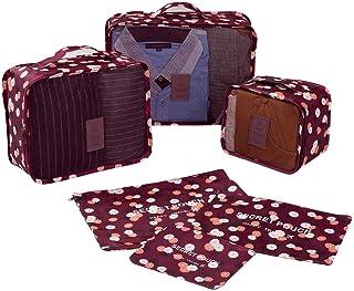 NEXTOUR Embalaje Cubo 6 Conjunto Viaje Almacenamiento Bolsa