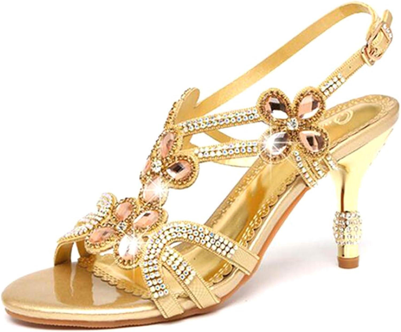 Diamonds High Heel Sandals, Womens Rhinestone Heels Sandals, Rhinestone High Heel Sandals, Beach Sandal, Party & Party