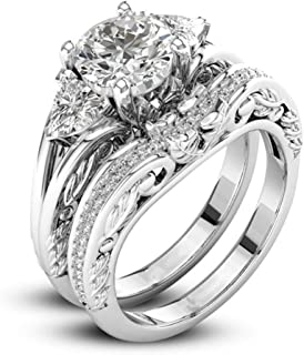 Womens Wide Bands Jewelry Diamond Anniversary Promise Engagement Ring