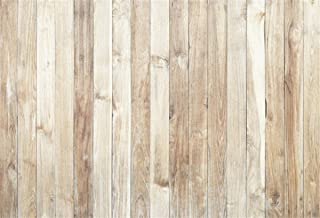 YEELE Wood Backdrop for Photography 5x3ft Light Brown Wooden Board Wood Floor Vertical Stripes Background Kids Newborn Portrait Baby Shower Photo Booth Photoshoot Props Wallpaper