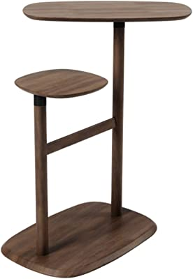Furniture Coffee Table Desktop Can Be Rotated Side Table Natural Wood End Table Sofa Corner Table/Small Tables for Living Room, Accent Tables, Side Table for Small Spaces Multi-Functional Side Tables