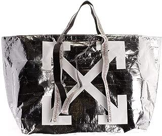 Luxury Fashion | Off-White Womens OWNA094F19F590869101 Silver Tote | Fall Winter 19