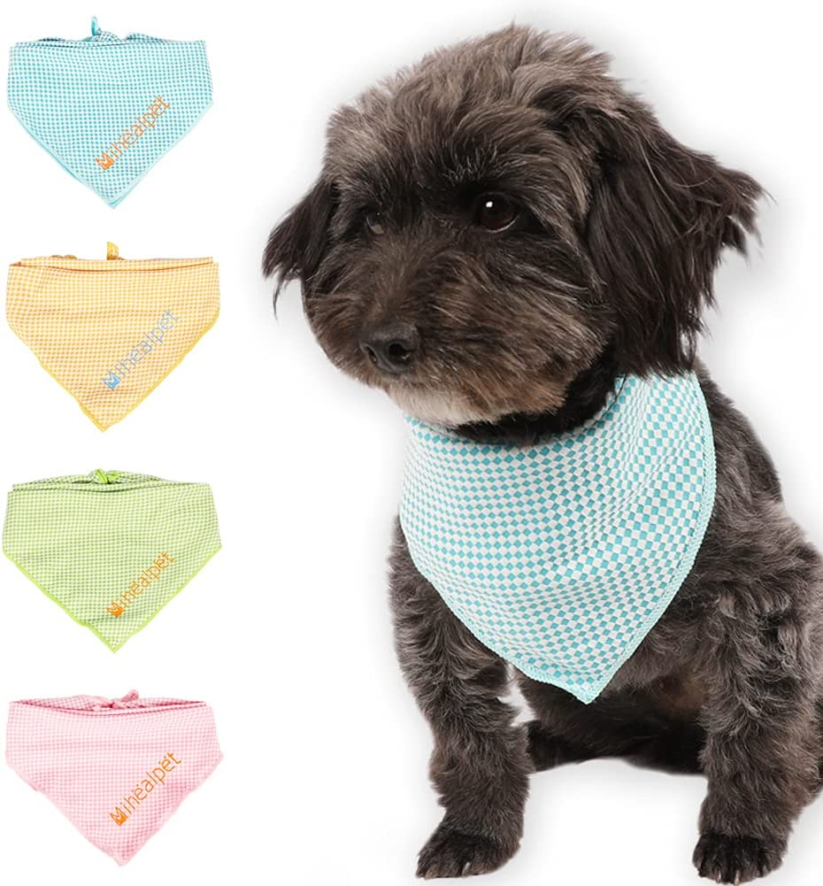 High Max 83% OFF order Dog Cooling Bandana 4 Packs Instant Down - Cool Kerchief