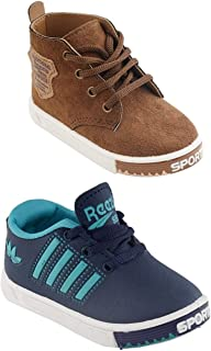 Edee Combo of 2 Pairs Shoes for Kids 15 Months to 4 Years